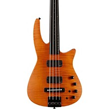 CR4 Fretless Electric Bass Guitar Satin Amber