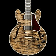 CS-356 3A Quilt Semi-Hollowbody Electric Guitar Cobra Burst