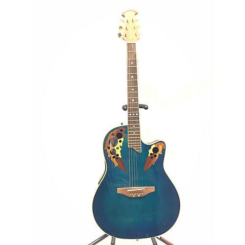 used ovation cs257 celebrity acoustic electric guitar blue burst guitar center. Black Bedroom Furniture Sets. Home Design Ideas