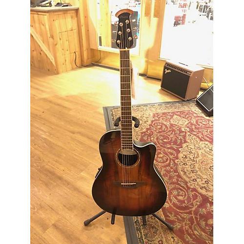 Ovation CS28P KOA Acoustic Electric Guitar