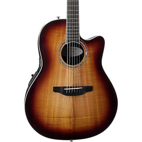 Ovation CS28P-KOAB Celebrity Standard Plus Super Shallow Acoustic-Electric Guitar