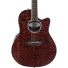 CS28P-KOAB Celebrity Standard Plus Super Shallow Acoustic-Electric Guitar Transparent Tiger Eye