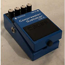 Boss CS3 Compressor Sustainer Effect Pedal