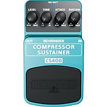 Behringer CS400 Compressor/Sustainer Guitar Effects Pedal