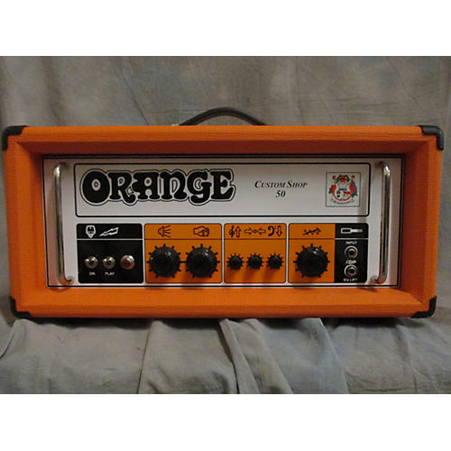 Orange Amplifiers CS50 Custom Shop 50W Tube Guitar Amp Head