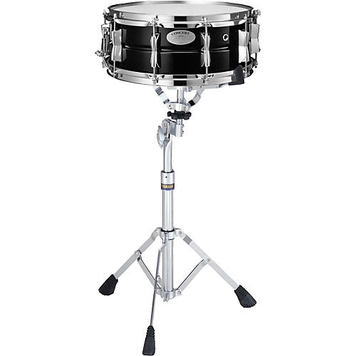 Yamaha CSS1455 Concert Steel Snare Drum with SS745A Stand