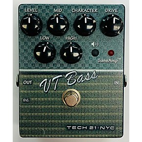 used tech 21 csvtb 2 sansamp character series vt bass bass effect pedal guitar center. Black Bedroom Furniture Sets. Home Design Ideas