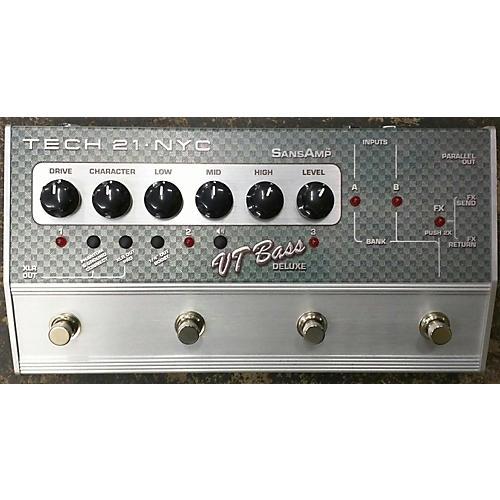 Tech 21 CSVTB.2 Sansamp Character Series VT Deluxe Bass Effect Pedal