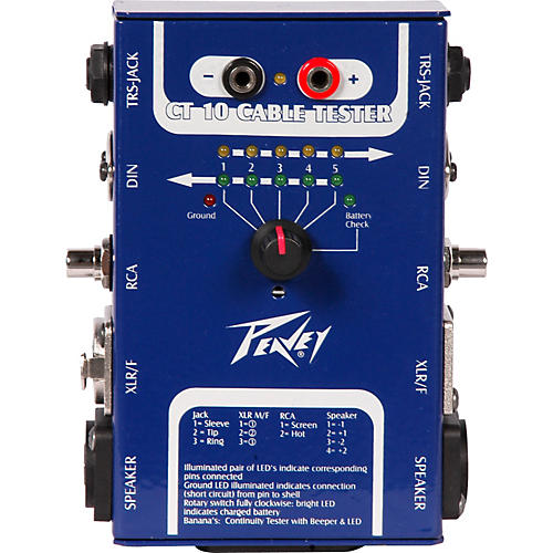 Peavey CT-10 Cable Tester