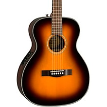 Fender CT-140SE with Case Travel Acoustic-Electric Guitar Natural