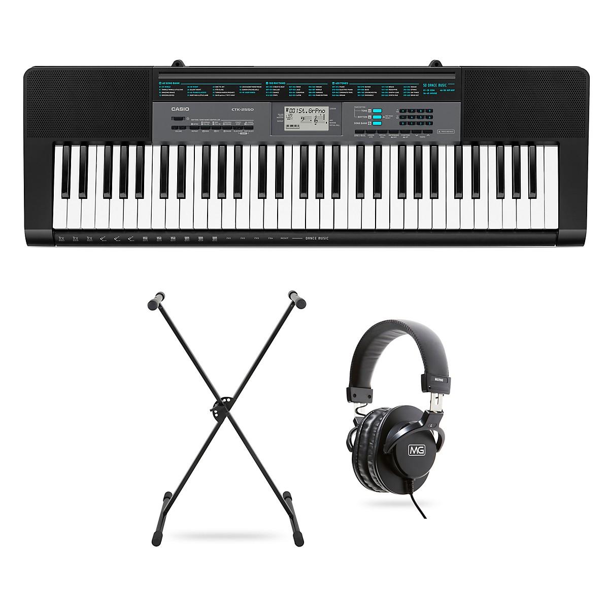 Casio CTK-2550 61-Key Portable Keyboard Package
