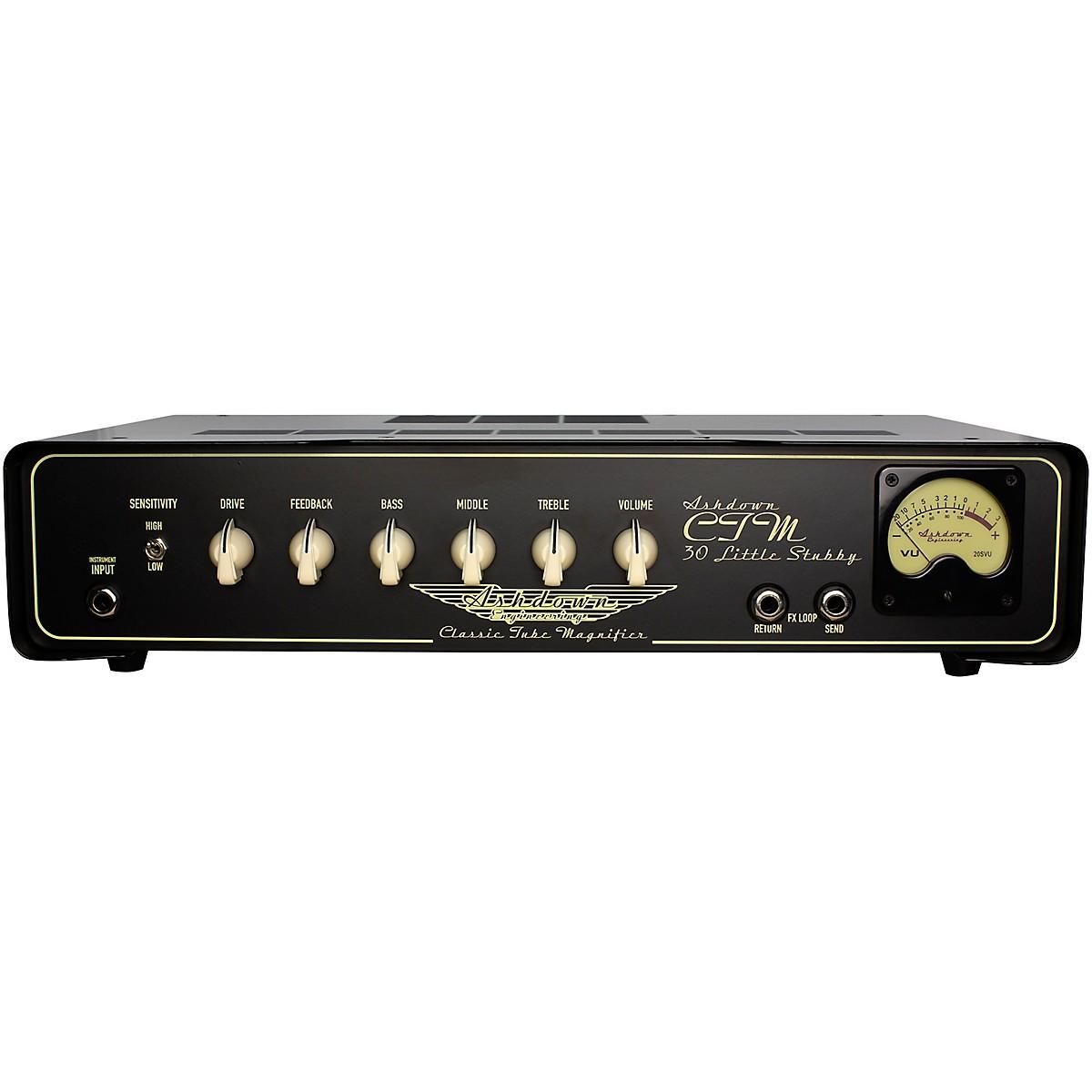 Ashdown CTM30 Little Stubby 30W Tube Bass Amp Head