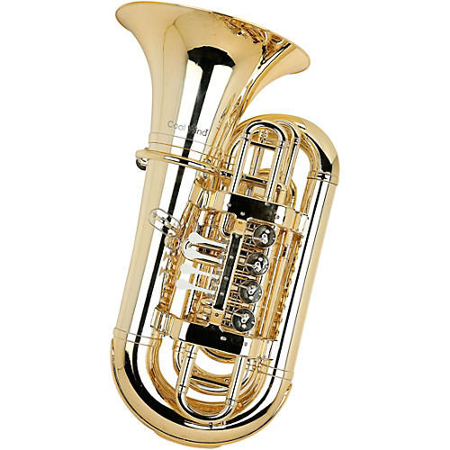 Cool Wind CTU-200 Metallic Series 4-Valve Plastic BBb Tuba