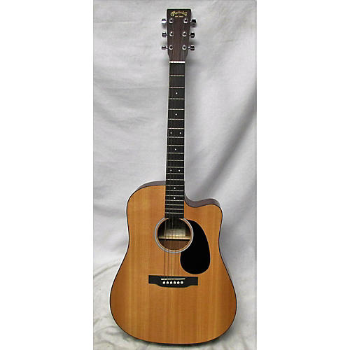 used martin custom road series dreadnought with cutaway acoustic electric guitar natural. Black Bedroom Furniture Sets. Home Design Ideas