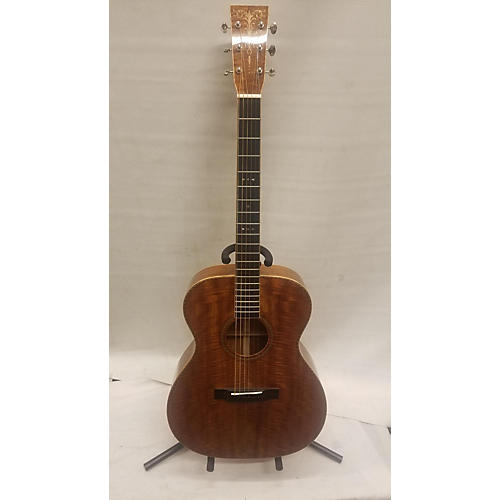 used martin custom shop 000om acoustic guitar mahogany guitar center. Black Bedroom Furniture Sets. Home Design Ideas