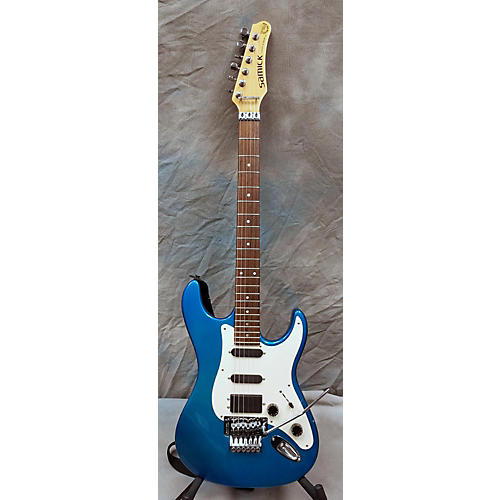 used samick custom shop pro s style fr solid body electric guitar turquoise guitar center. Black Bedroom Furniture Sets. Home Design Ideas