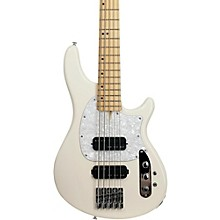 CV-5 Bass 5-String Electric Bass Guitar Ivory