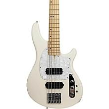 Schecter Guitar Research CV-5 Bass 5-String Electric Bass Guitar Level 1 Ivory