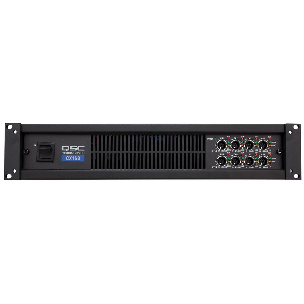 QSC CX168 8-CH Low-Z Power Amplifier