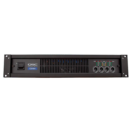 QSC CX404 4-CH Low-Z Power Amplifier