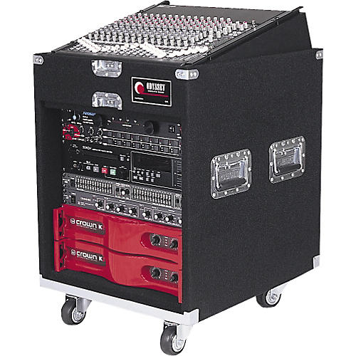 Odyssey CXP1110W Carpeted Pro Combo Case w/Wheels