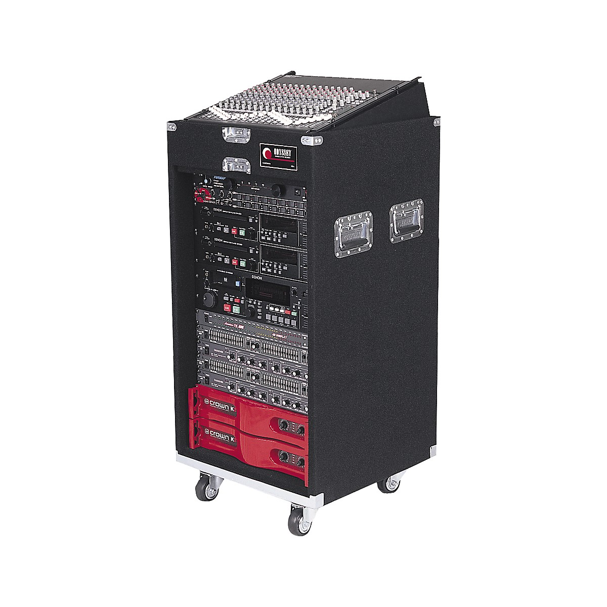 Odyssey CXP1118W Pro Combo Case with Wheels