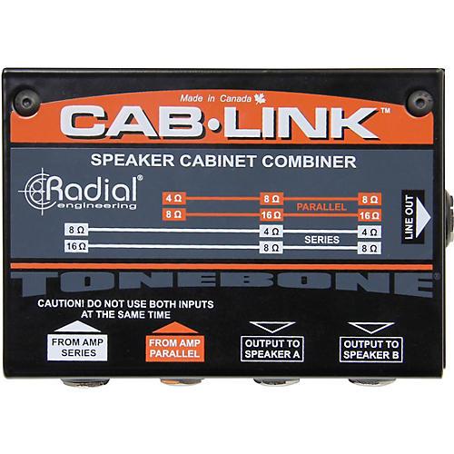 Radial Engineering Cab-Link Passive Speaker Cabinet Merger