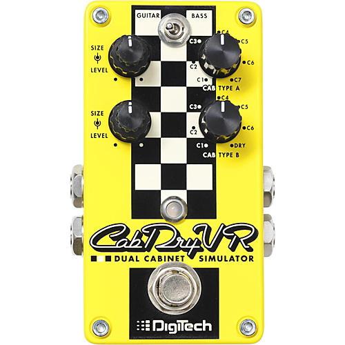 Digitech CabDryVR Dual Speaker Cabinet Emulator Pedal