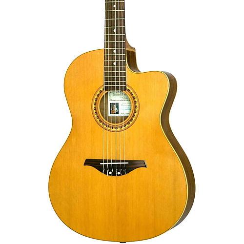 Manuel Rodriguez Caballero 10 Cutaway Nylon String Acoustic-Electric Guitar