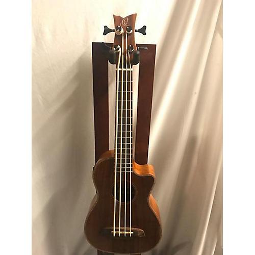 used ortega caiman bs gb uke bass ukulele guitar center