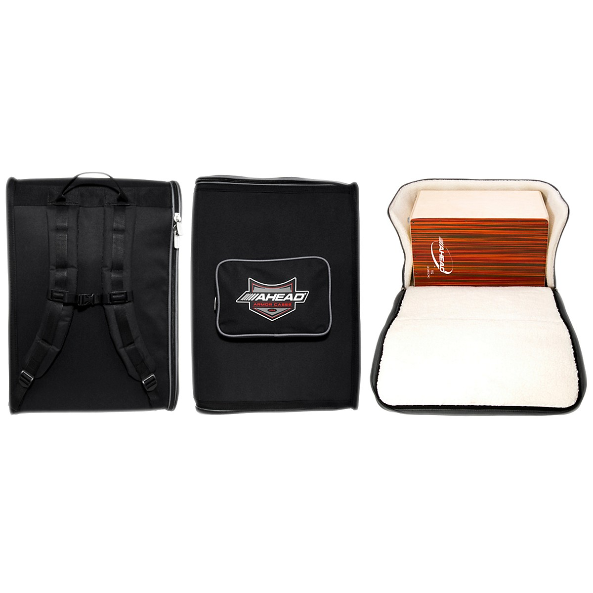 Ahead Armor Cases Cajon Deluxe Case with Backpack Straps