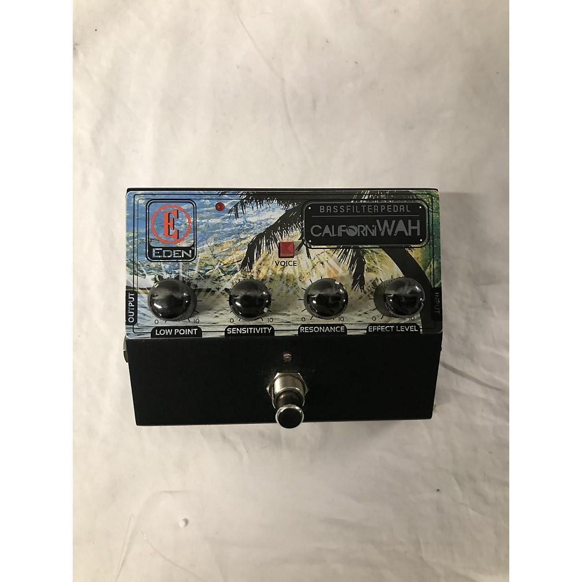 Eden CaliforniWAH Bass Filter Bass Effect Pedal