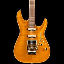 Schecter Guitar Research California Classic 6-String Electric Guitar Transparent Amber