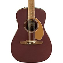 California Malibu Player Acoustic-Electric Guitar Burgundy Satin