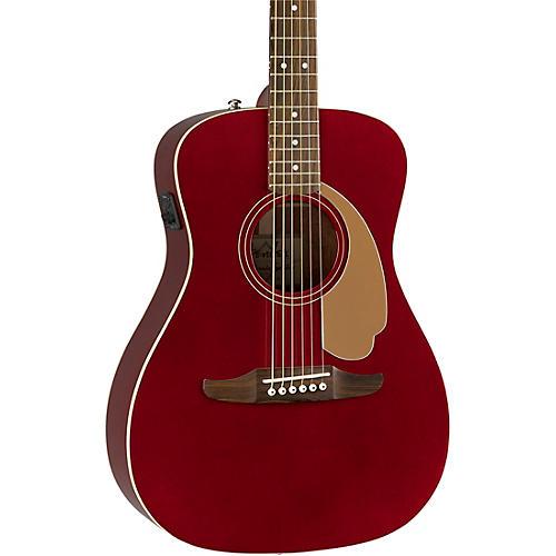 fender california malibu player acoustic electric guitar candy apple red guitar center. Black Bedroom Furniture Sets. Home Design Ideas