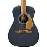 Fender California Malibu Player Acoustic-Electric Guitar Midnight Satin