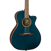 California Newporter Classic Acoustic-Electric Guitar Cosmic Turquoise