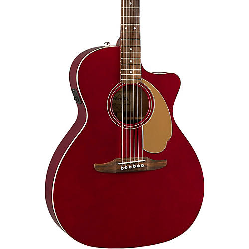 fender california newporter player acoustic electric guitar candy apple red guitar center. Black Bedroom Furniture Sets. Home Design Ideas