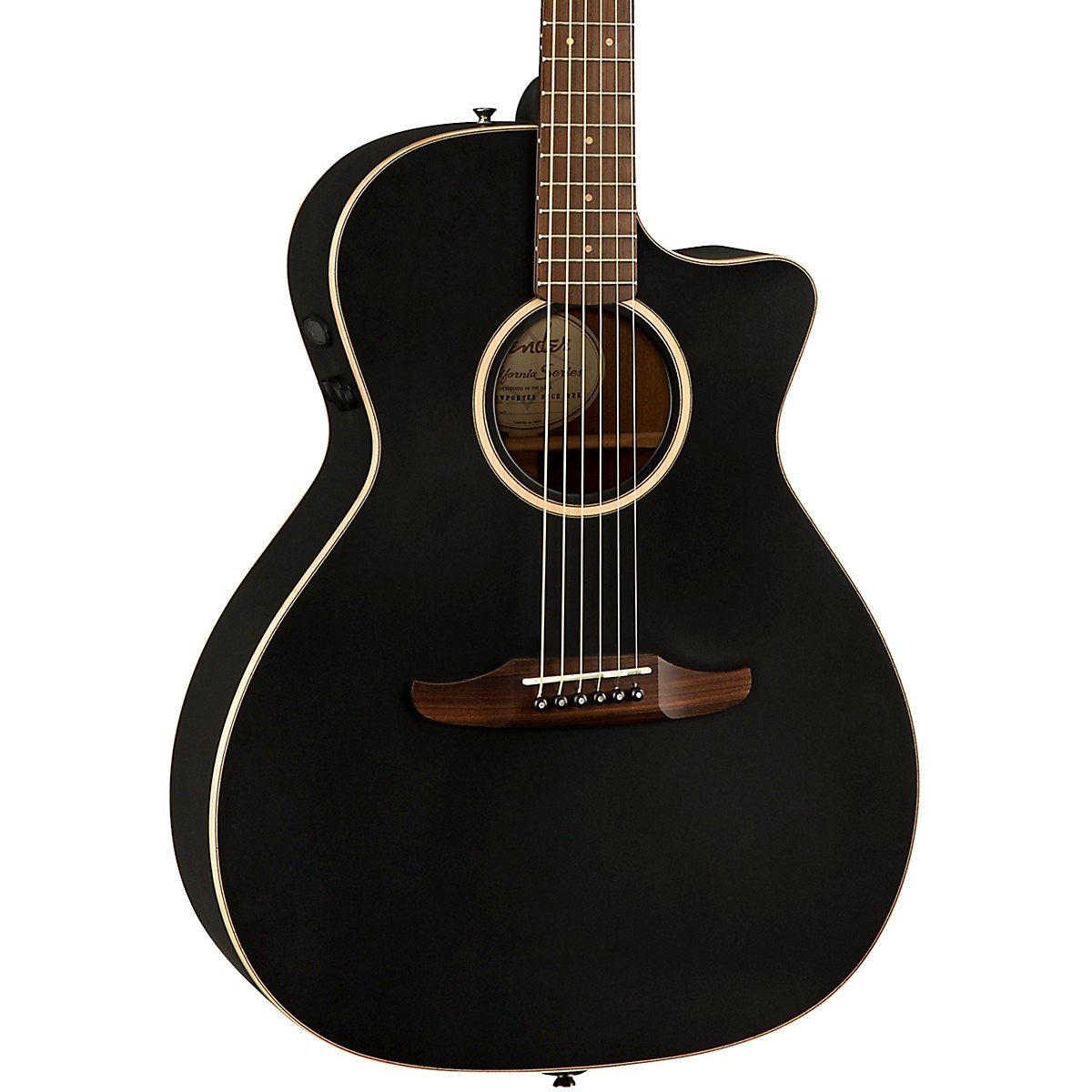 Fender California Newporter Special Acoustic-Electric Guitar