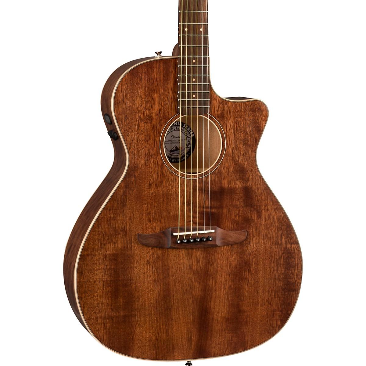 Fender California Newporter Special Pau Ferro Fingerboard Acoustic-Electric Guitar