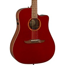 California Redondo Classic Acoustic-Electric Guitar Hot Rod Red Metallic