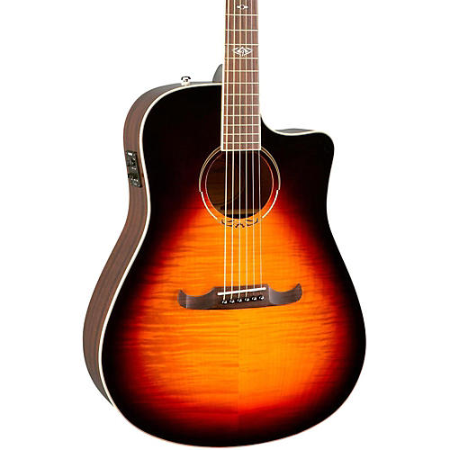 Fender California Series T Bucket 300CE Cutaway Dreadnought Acoustic Electric Guitar