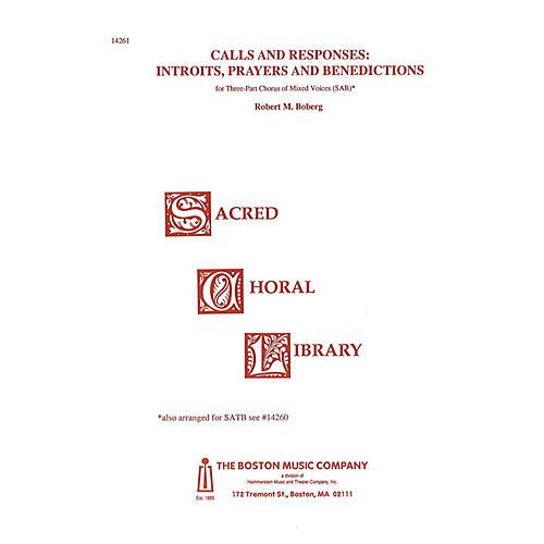 Music Sales Calls and Responses SAB