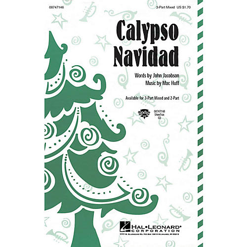 Hal Leonard Calypso Navidad ShowTrax CD Composed by John Jacobson, Mac Huff