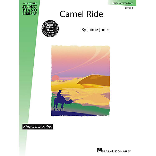 Hal Leonard Camel Ride Piano Library Series Book by Jaime Jones (Level Early Inter)