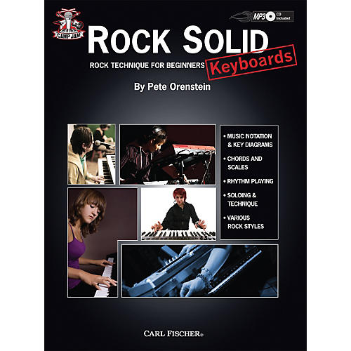Carl Fischer Camp Jam: Rock Solid for Keyboards Book/CD