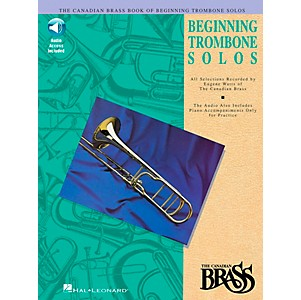 Click here to buy Hal Leonard Canadian Brass Beginning Trombone CD Package by Hal Leonard.