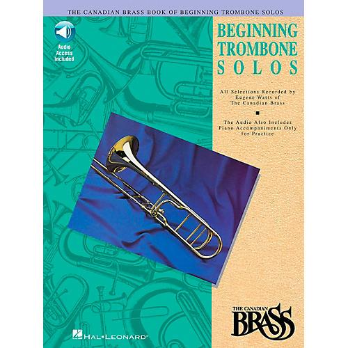 Hal Leonard Canadian Brass Beginning Trombone CD Package