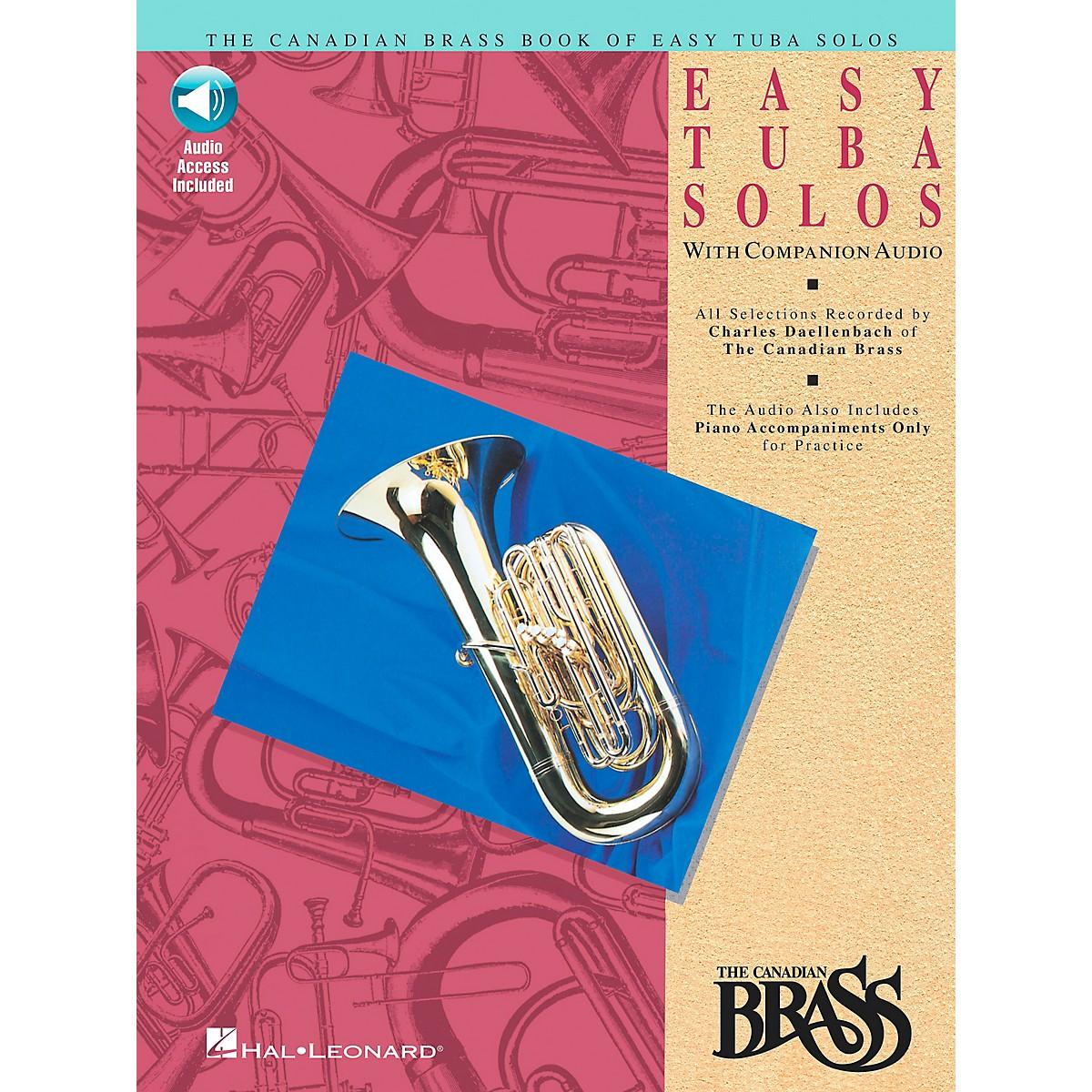 Hal Leonard Canadian Brass Easy Tuba Book/CD