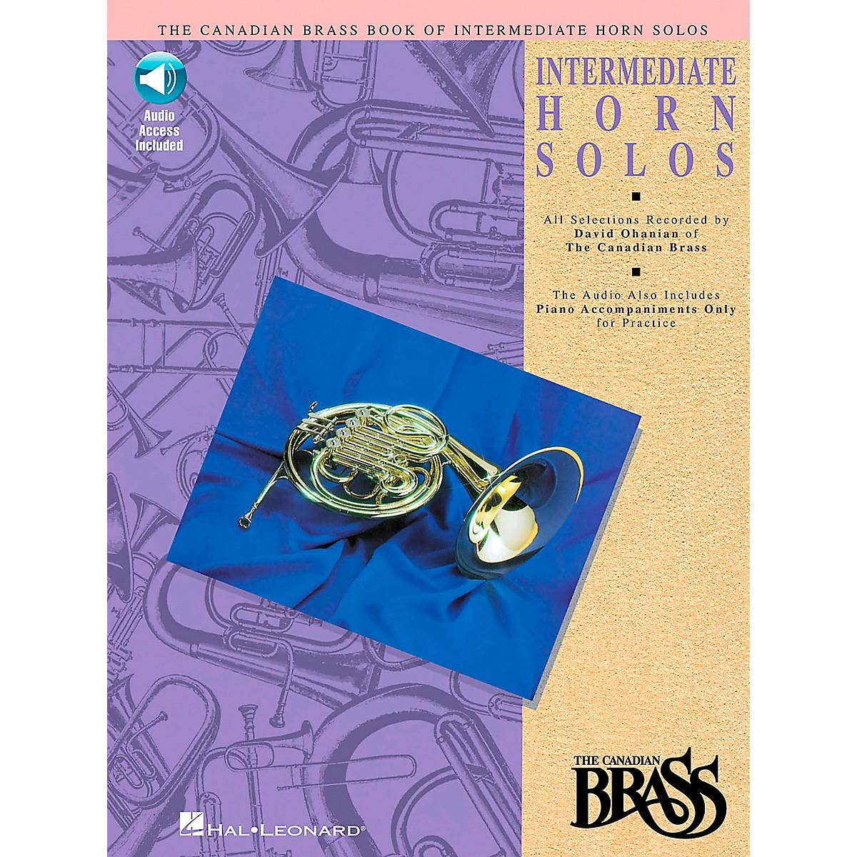 Hal Leonard Canadian Brass Intermediate Horn Solo CD/Pkg
